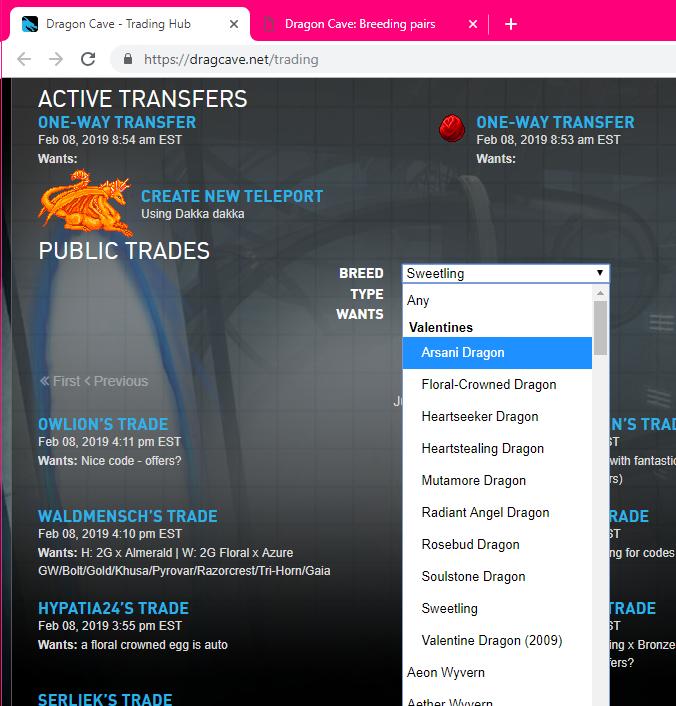 dragcave-mockup-trading-breed-optgroups-